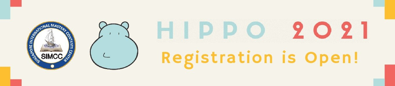 2021 Hippo is open for registration